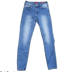 Guess High Waist Skinny Tahiana Fit Jeans Sz 26